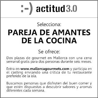 actitud 3.0 selecciona pareja de amantes de la cocina x S. Valentín