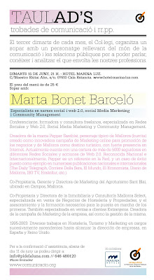 A PR donkey talking about Mallorca… Una burrita, RRPP de Mallorca