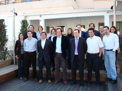 Almuerzo Joves Empresaris marzo 08 con el Sr. A. Horrach