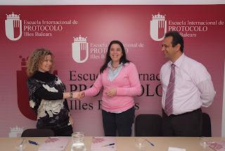 Pidelaluna es la primera agencia de eventos que colabora con la Escuela de Protocolo de Baleares